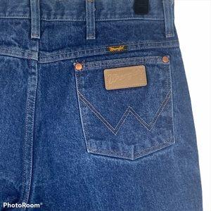 Vintage Wrangler 936Den Cowboy Cut Straight Jeans